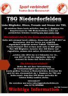 TSG: aus und vorbei oder nicht???