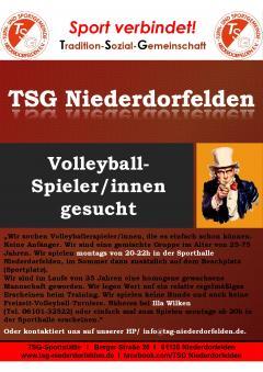 Spieler für Volleyball gesucht
