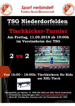 Sportwerbewoche TSG vom 09.05. bis 13.05.2018