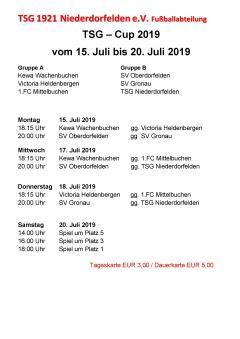 TSG-Cup 2019