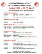 Sportwerbewoche vom 24.05. bis 28.05.2017