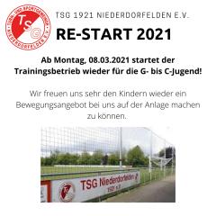 Re-Start 2021 in der Jugend