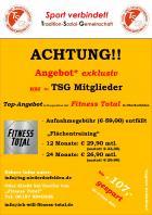 Aufgepasst!! Top-Konditionen für TSG-Mitglieder